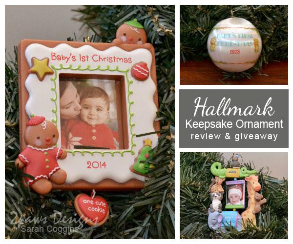 Hallmark #KeepsakeIt Ornament Review & Giveaway
