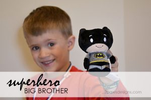 superhero big brother: Batman itty bitty