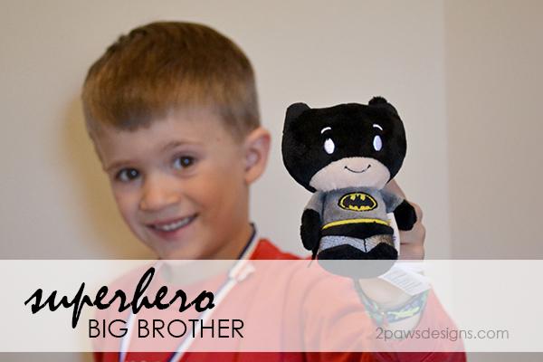 superhero big brother: Batman itty bitty