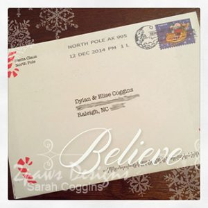 Letter from Santa: Believe