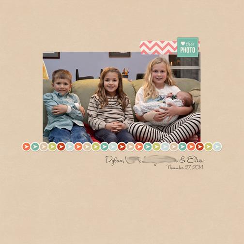 Thanksgiving 2014: Cousins digital layout