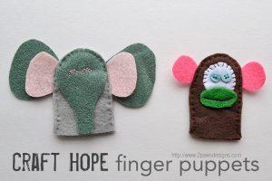 Craft Hope: Finger Puppets