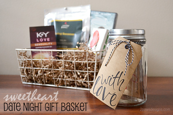 Sweetheart Date Night Gift Basket