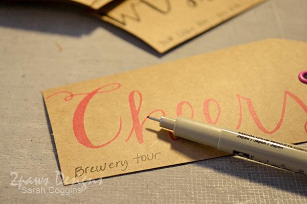 Jot date night ideas onto tags. 2pawsdesigns.com