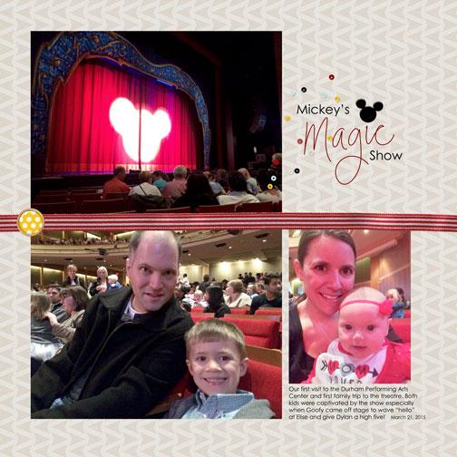 Mickey's Magic Show - DPAC