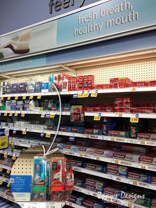 Colgate Sensitive Toothbrush and Sensitivity Pen at Kroger