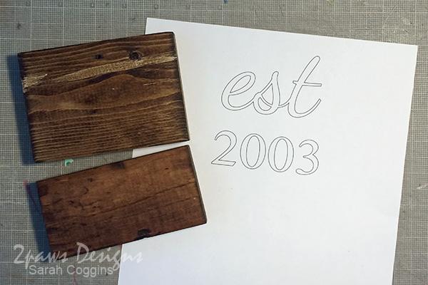 DIY Established Sign: Lettering