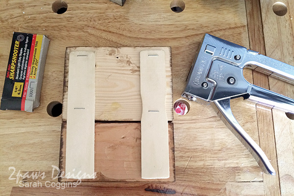 DIY Established Sign: Staple