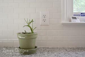 Project Kitchen: Tile Backsplash Complete