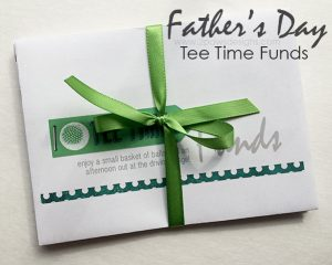 Father's Day Tee Time Funds