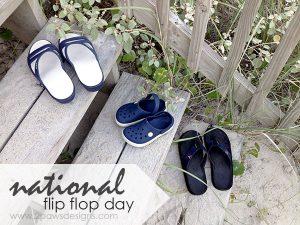 National Flip Flop Day 2015