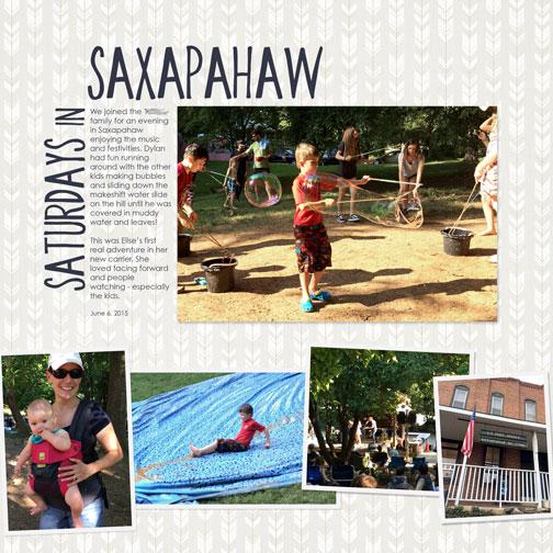 Saturdays In Saxapahaw: June 2015