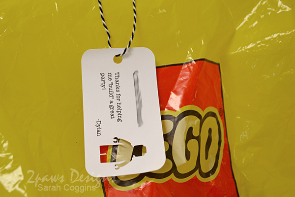 Lego Pirate Party: Goody Bag Tags