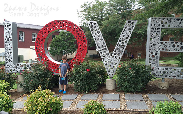 Love VA Sign