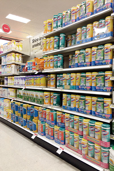 #BackToClean with Clorox Wipes at Target