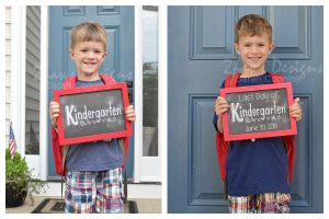 Kindergarten: First & Last Day Photos