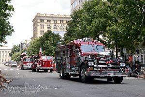 North Carolina's Main Street Fire Truck Parade 2015