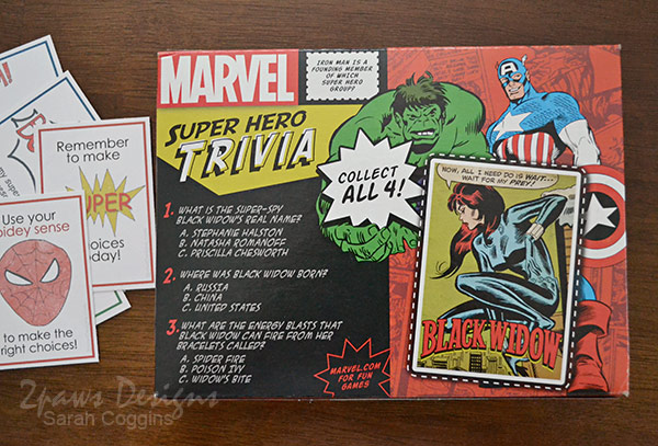 MARVEL Chewy Granola Bars collector cards #MARVELSnackBar