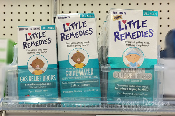 Ease little ones tummies with Little Remedies products from Target. #MyLittleRemedies