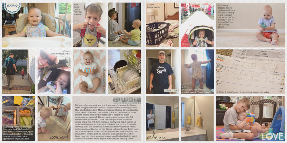 Week in the Life 2015: Monday #WITL2015