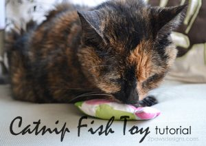 Catnip Fish Toy Tutorial #MyCatMyMuse