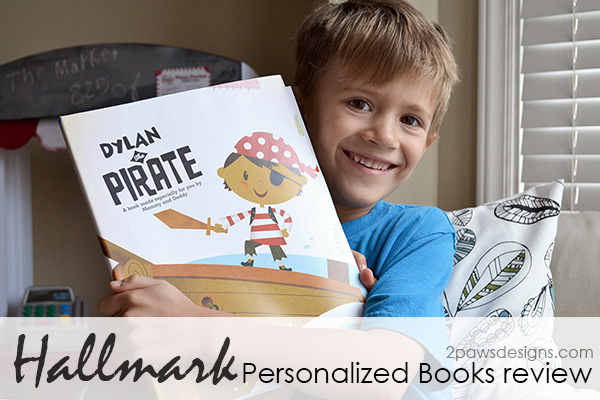 Hallmark Personalized Books Review #LoveHallmark