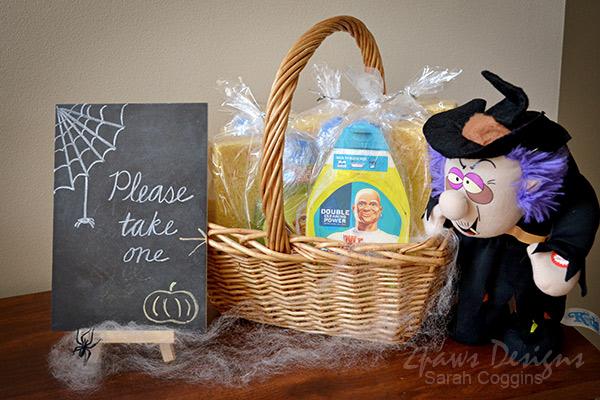 Halloween Mr Clean Party Favors #spon