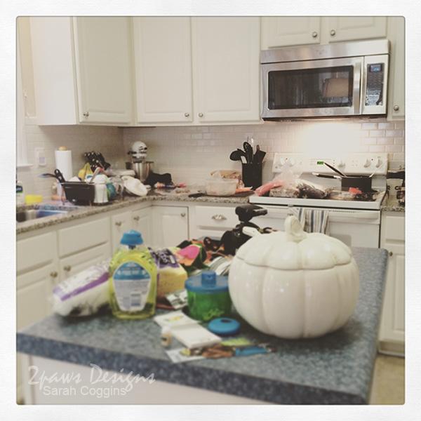 Messy Kitchen photo on Instagram