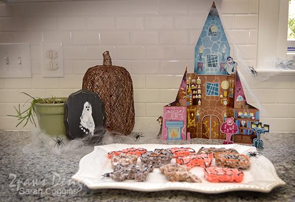 Monster Cereal Treats & Castle #SpooktacularSnacks #MonsterCereals