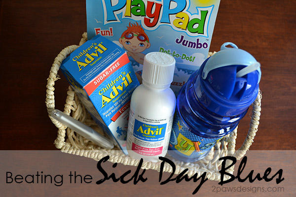 Beating the Sick Day Blues with Children's Advil #FightFever #ad