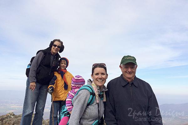 Birthday Hike: Family Photo