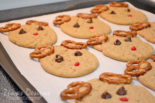 Reindeer Cookies: Baked #SpreadCheer #sp