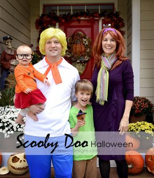 Scooby Doo Gang Family Halloween Costumes 2015