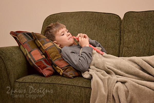 Sick Days: Rest & Freeze Pops