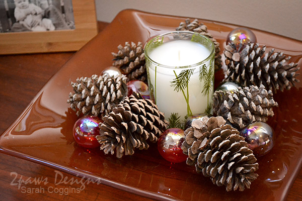 Thymes Frasier Fir Candle Display #Thymes #FrasierFir #sp