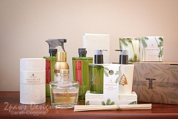Thymes Frasier Fir Fragrance Collection #Thymes #FrasierFir #sp