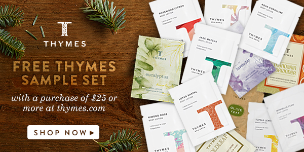Thymes Free Sample Set Offer #sp