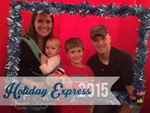 Holiday Express 2015: Family photo