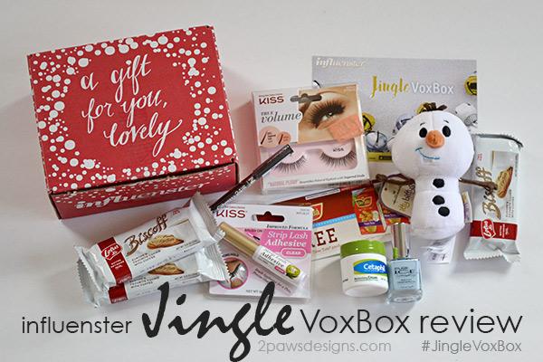 Influenster Jingle VoxBox review #JingleVoxBox