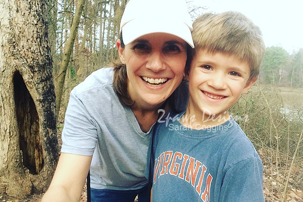 Mommy & Me Monday: Geocaching Selfie