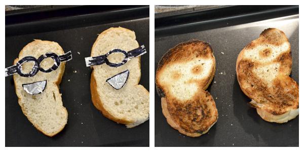 """Minion"" French Bread: Before & After #MinionsMovieNight #ad"