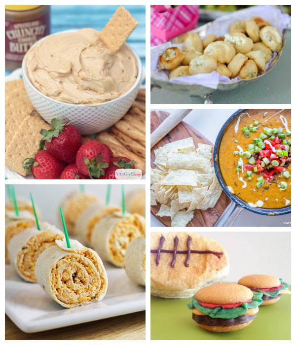 Dream Create Inspire: Football Party Food Ideas