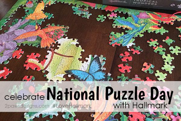 Celebrate National Puzzle Day with Hallmark #LoveHallmark