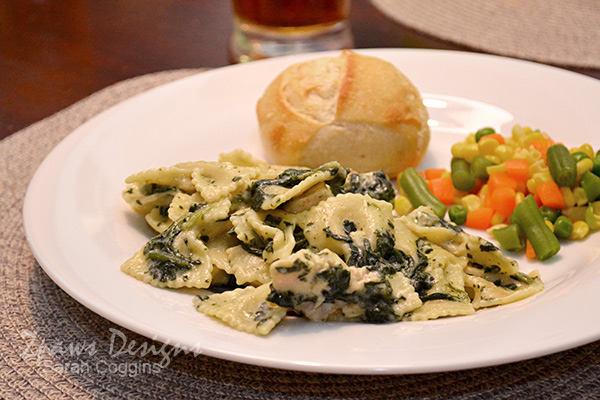 Bertolli Chicken Florentine & Farfalle Dinner #FrozenRewards