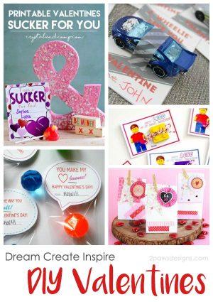 Dream Create Inspire: DIY Valentines