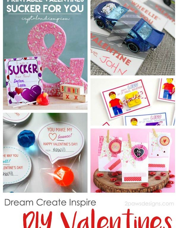 Dream Create Inspire: DIY Valentines