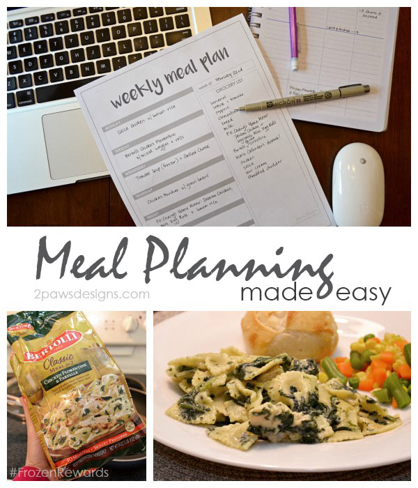 Meal Planning Made Easy #FrozenRewards