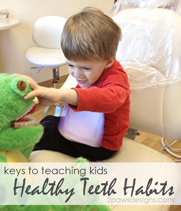 Keys to Teaching Kids Healthy Teeth Habits