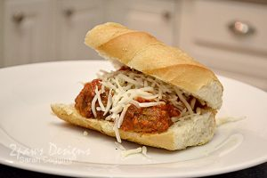 Meatball Sub with Nello's Sauce