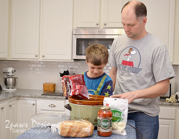 Meatball Sub with Nello's Sauce recipe: Father & Son Cooking